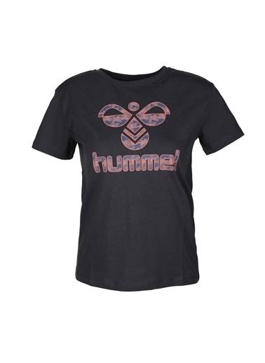 Hummel Hmlrasa T-Shirt Kadın Kısa Kol T-Shirt Lacivert